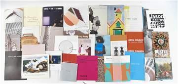 CONTEMPORARY ART & MONOGRAPH ETC. BOOKS