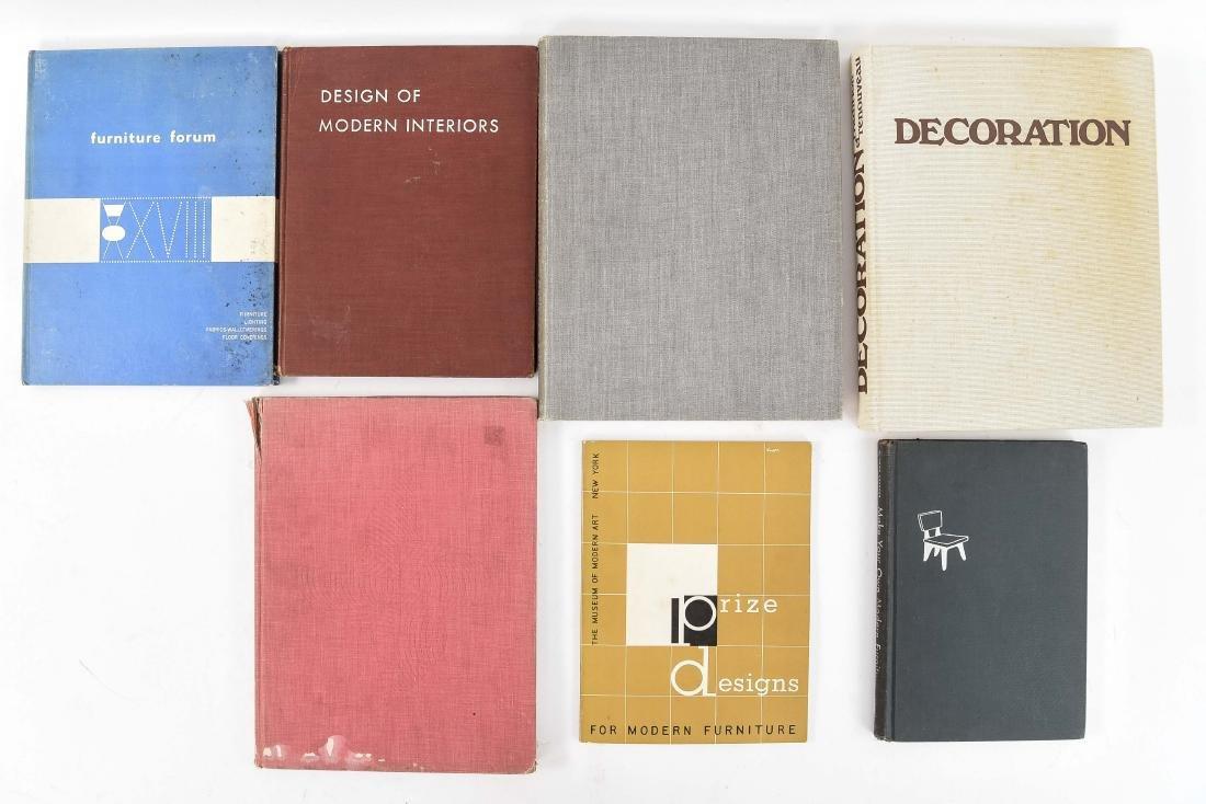 20TH CENTURY INTERIOR DESIGN BOOKS