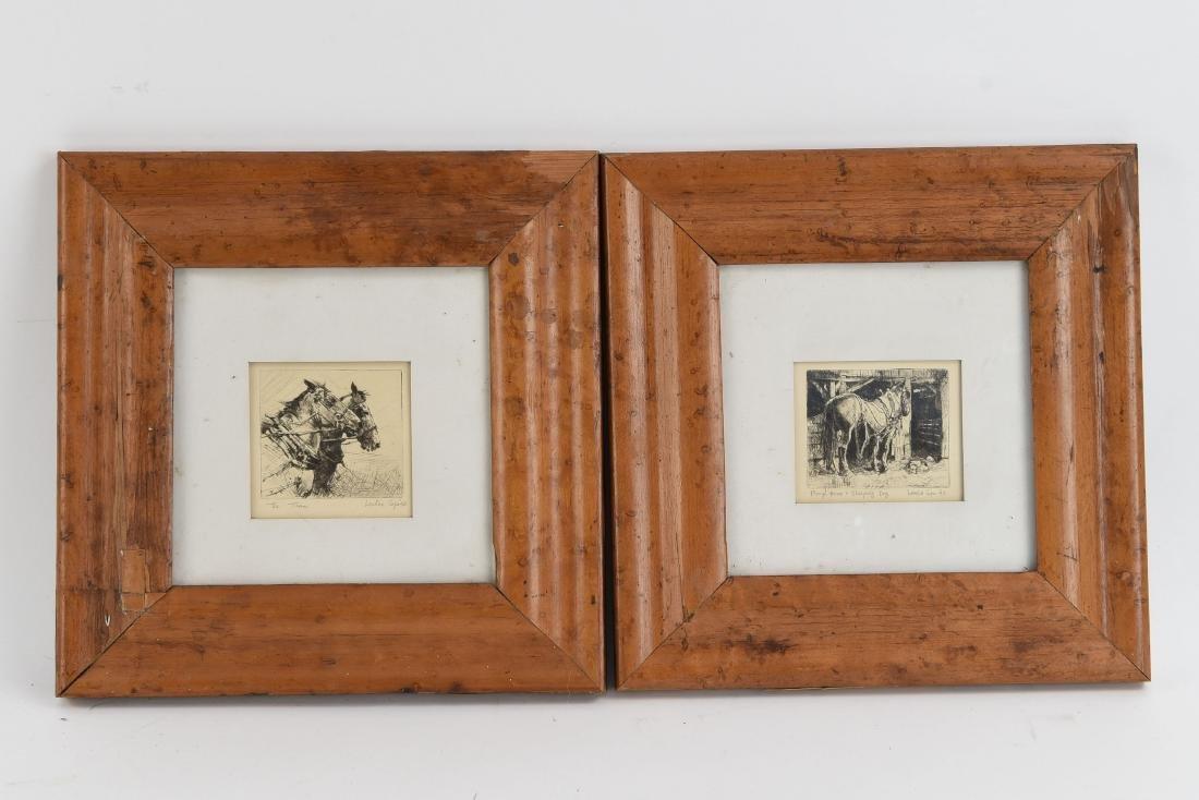 (2) HORSE PRINTS