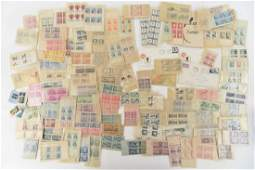 GROUPING OF AMERICAN  FOREIGN STAMPS