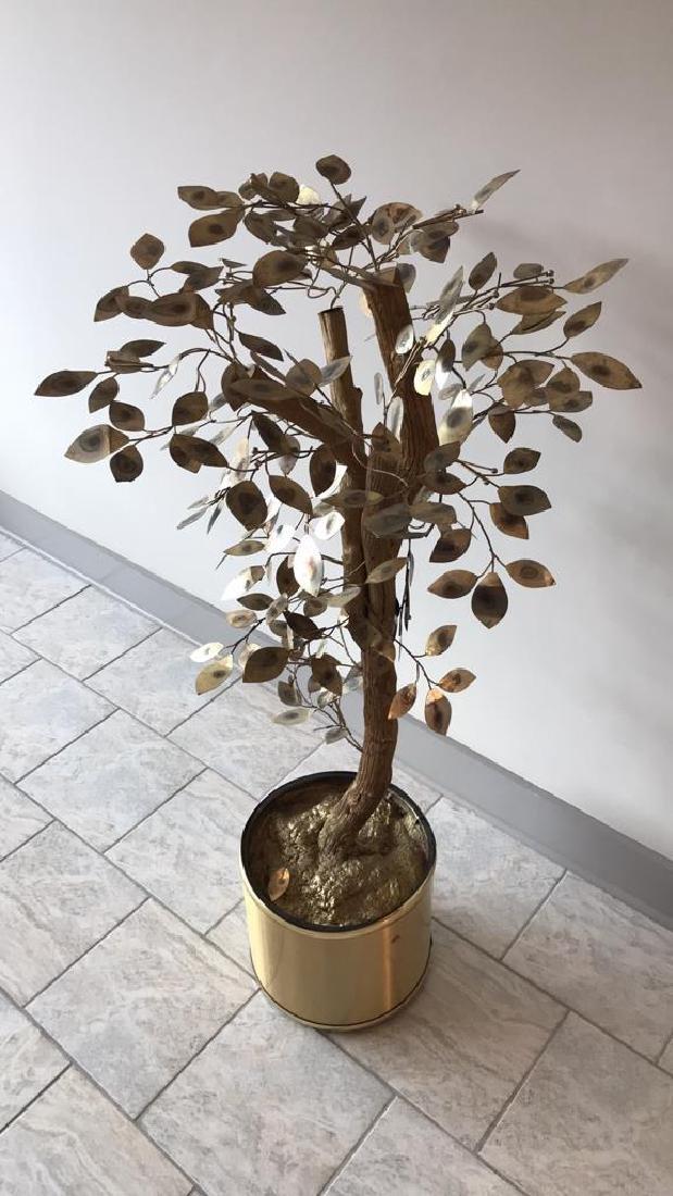 CURTIS JERE TREE SCULPTURE - 10