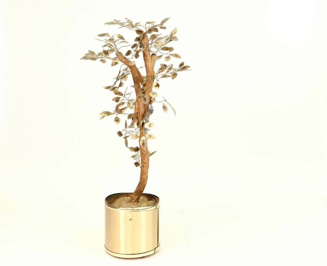 CURTIS JERE TREE SCULPTURE - 2