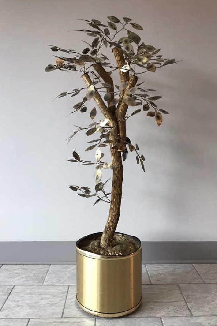 CURTIS JERE TREE SCULPTURE - 8