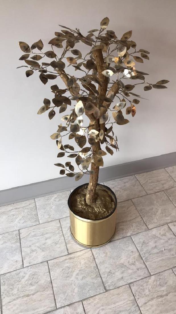 CURTIS JERE TREE SCULPTURE - 9