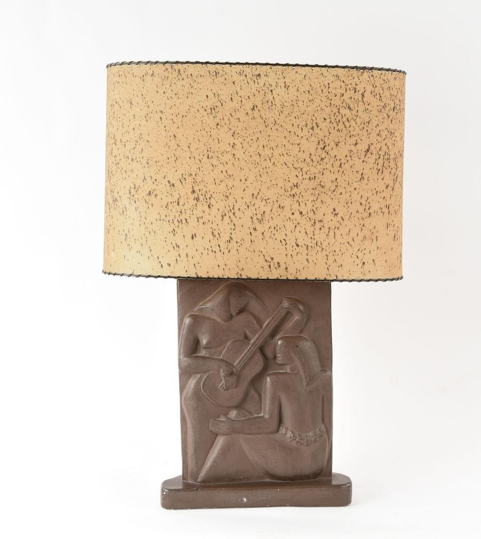 MID-CENTURY RINA DECO MODERN TABLE LAMP
