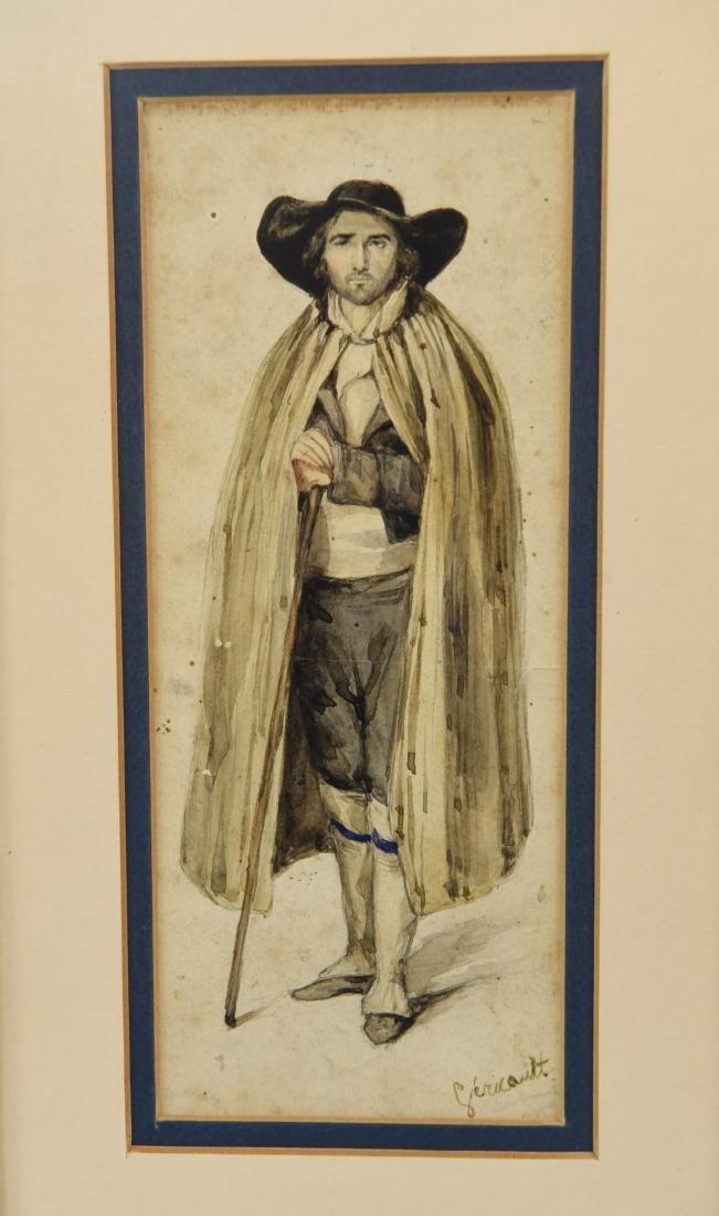 ATTR. THEODORE GERICAULT (FRENCH 1791-1824) - 3