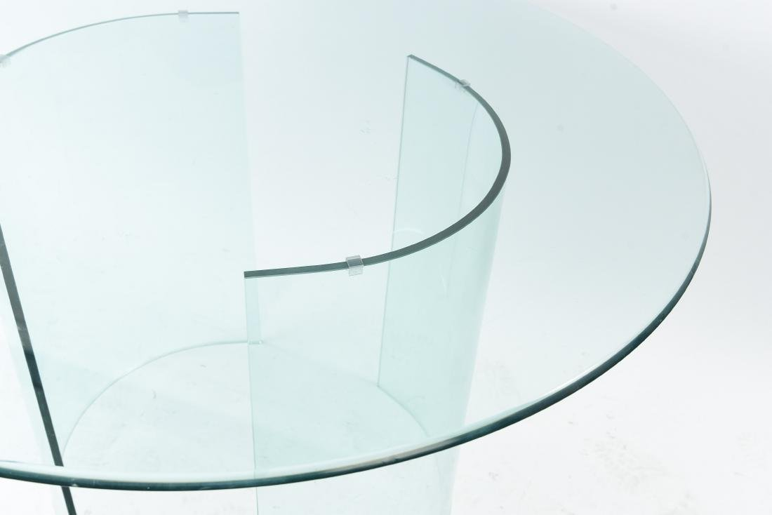 ALL GLASS ROUND TABLE - 2