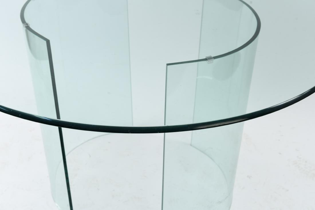 ALL GLASS ROUND TABLE - 5
