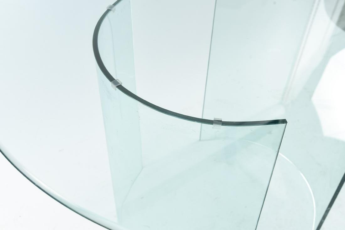 ALL GLASS ROUND TABLE - 8