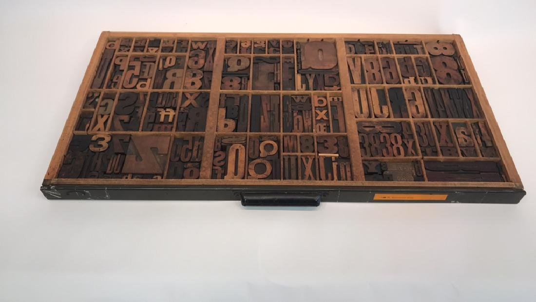 PRINTERS TRAY/LETTERS COLLECTION