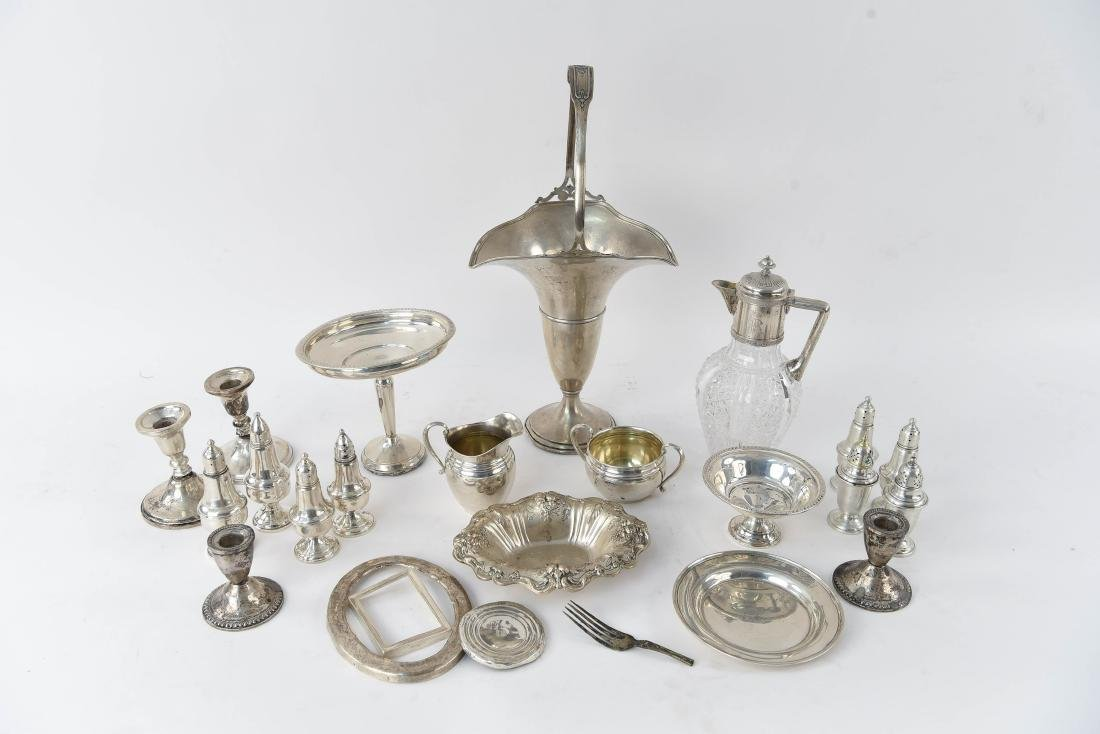 MISC. STERLING SILVER GROUPING
