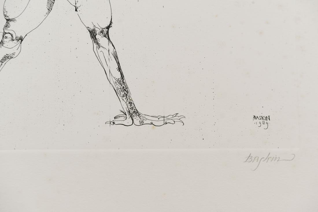 LEONARD BASKIN (AMERICAN 1922-2000) - 4