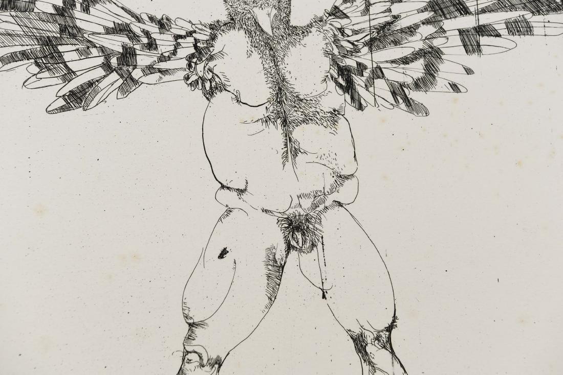 LEONARD BASKIN (AMERICAN 1922-2000) - 8