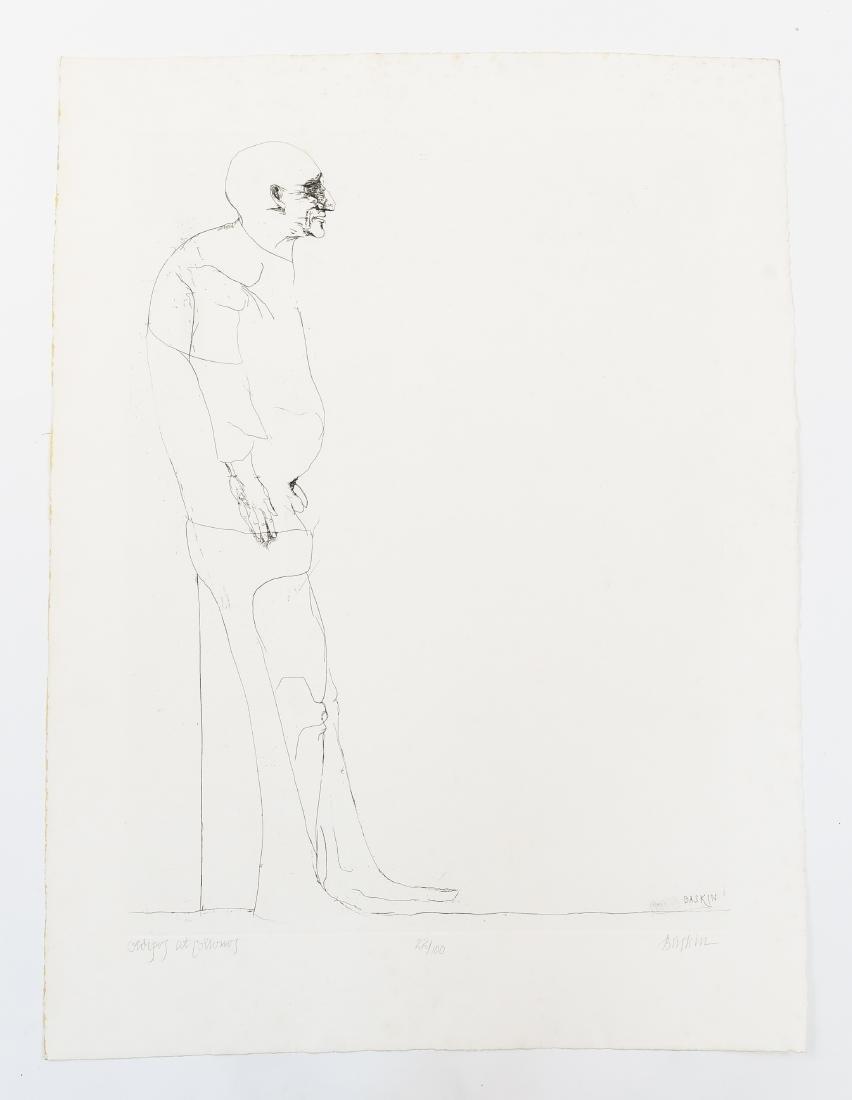 LEONARD BASKIN (AMERICAN 1922-2000)