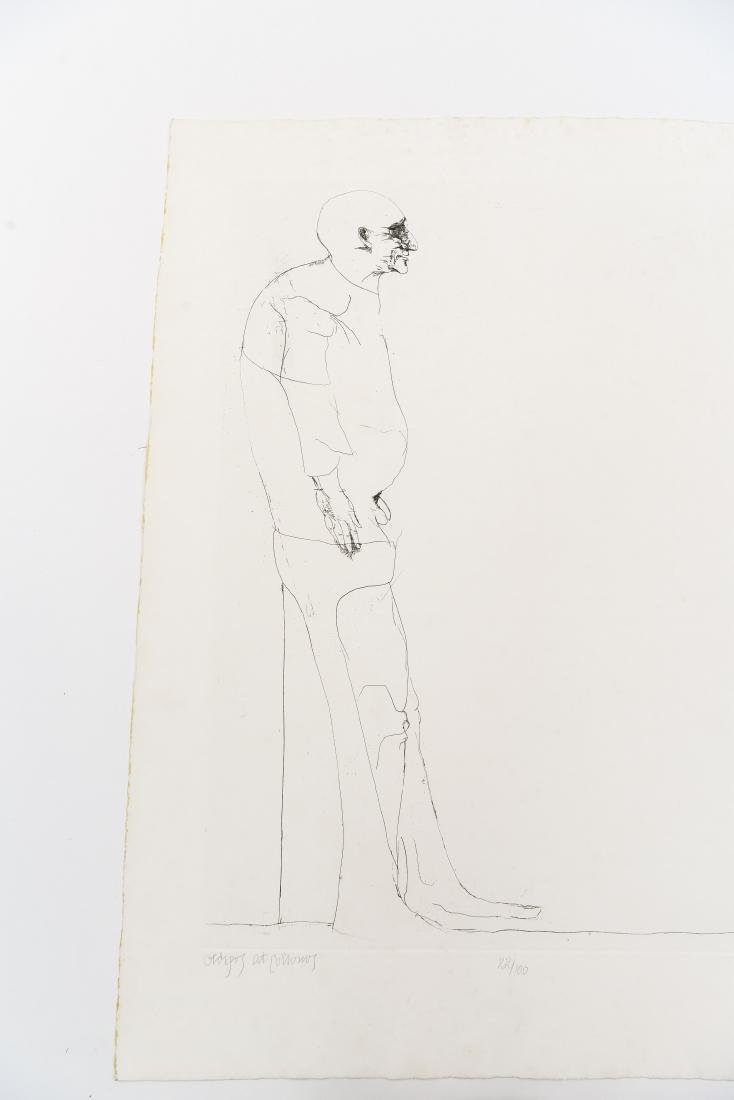 LEONARD BASKIN (AMERICAN 1922-2000) - 2