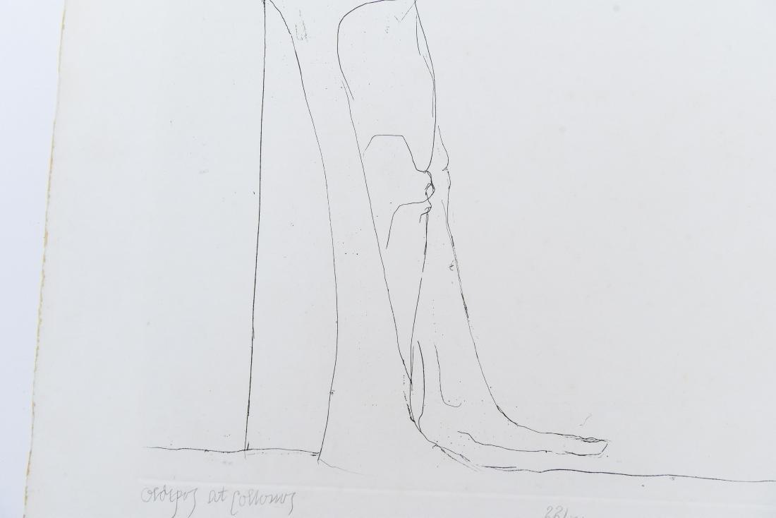 LEONARD BASKIN (AMERICAN 1922-2000) - 6