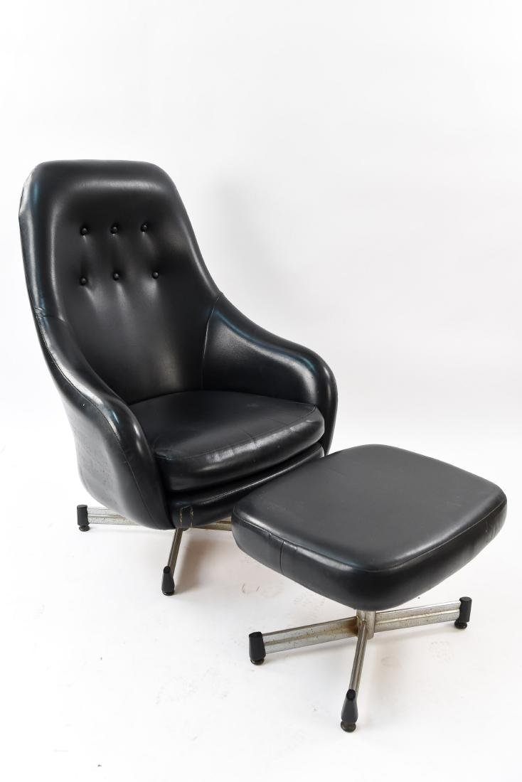VIKO LOUNGE CHAIR W/ OTTOMAN