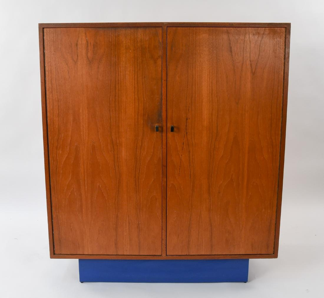 MID-CENTURY CHEST OF DRAWERS W/ CABINET DOORS