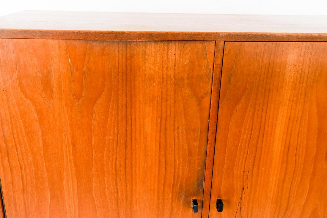 MID-CENTURY CHEST OF DRAWERS W/ CABINET DOORS - 2