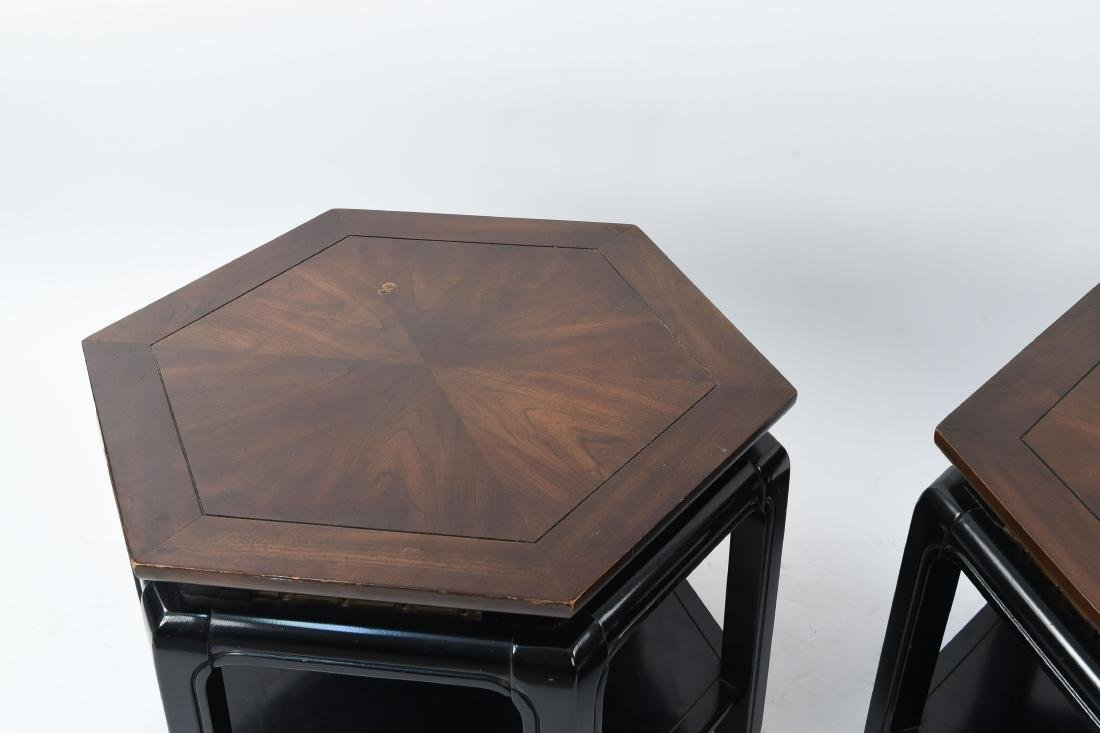 MID-CENTURY J. B. VAN SCIVER HEXAGONAL TABLES - 2