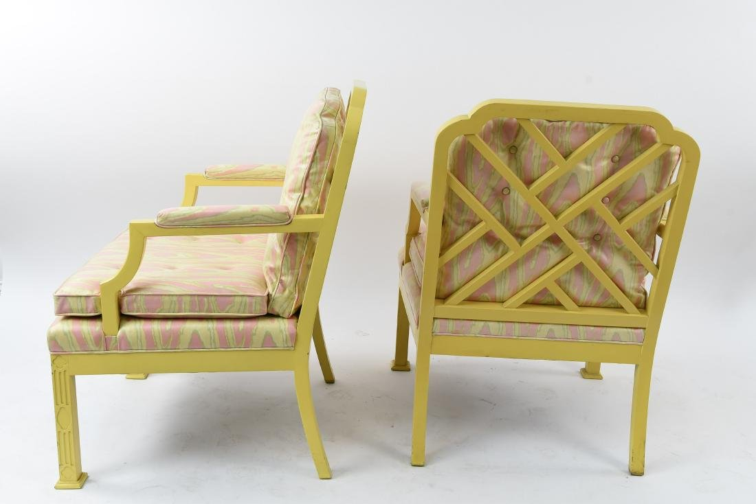 MID-CENTURY CHINESE CHIPPENDALE STYLE ARMCHAIRS - 8