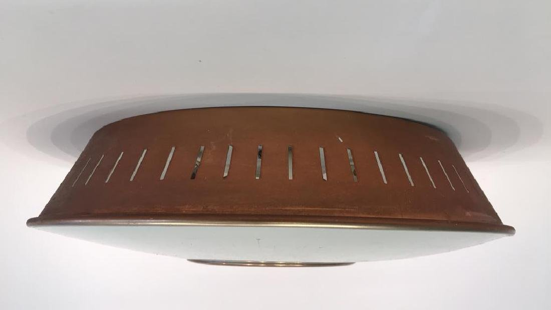 MID-CENTURY FLUSH MOUNT LIGHT FIXTURE - 6