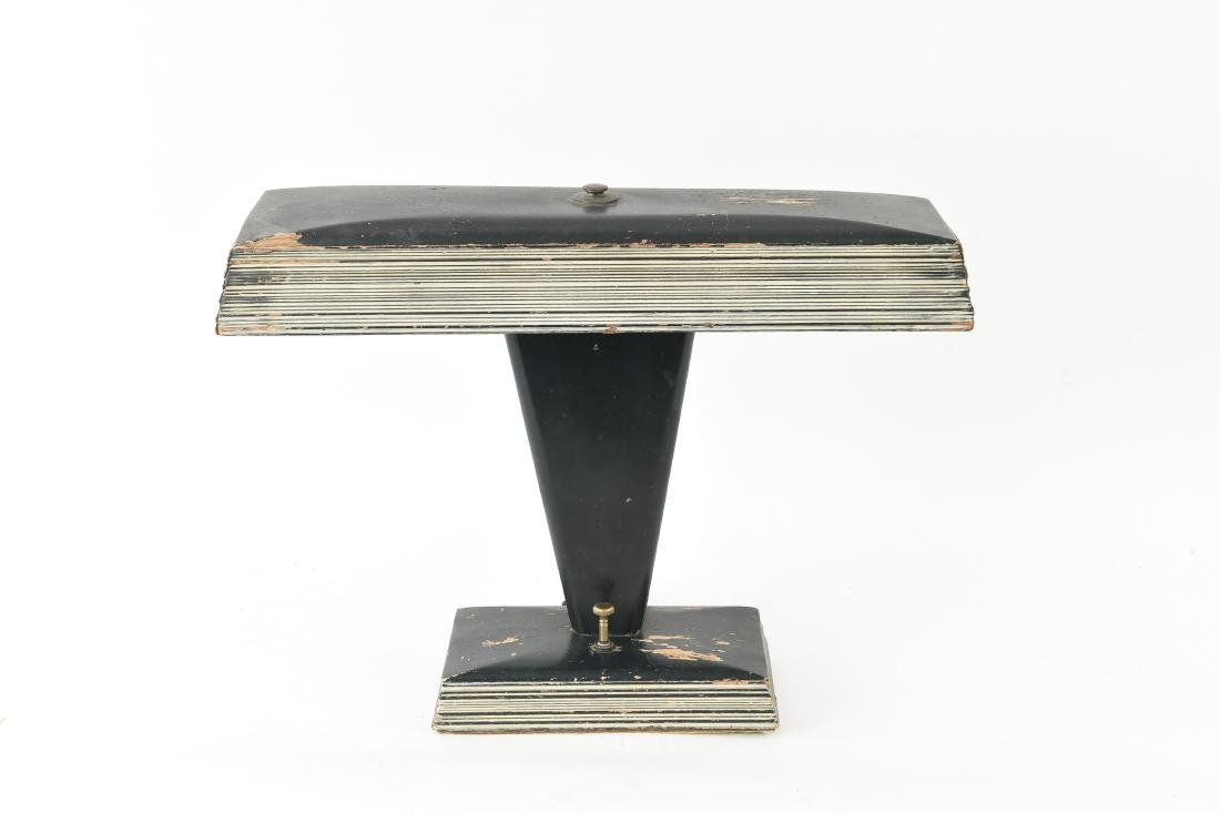 ART DECO WOODEN TABLE LAMP