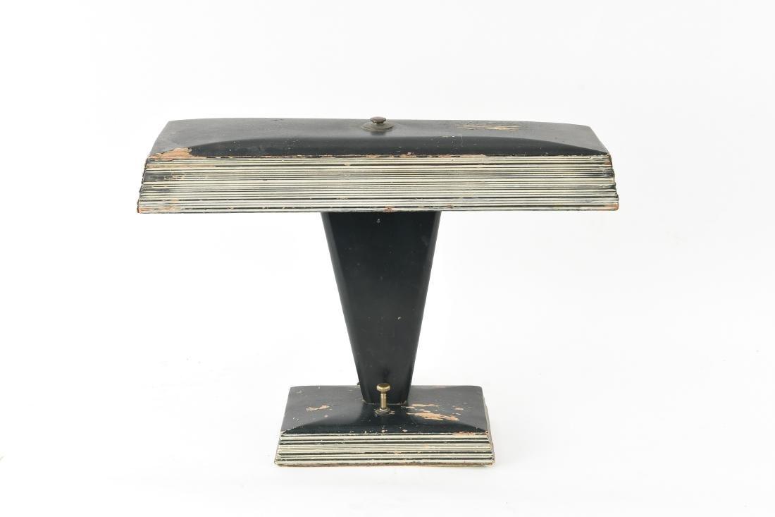 ART DECO WOODEN TABLE LAMP