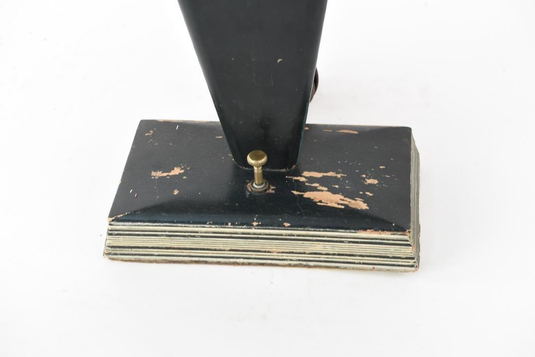 ART DECO WOODEN TABLE LAMP - 5