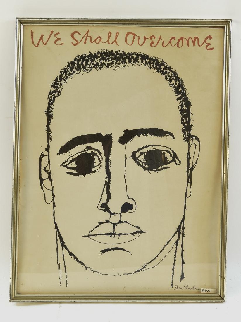 BEN SHAHN (LITHU/AMERICAN 1898-1969)
