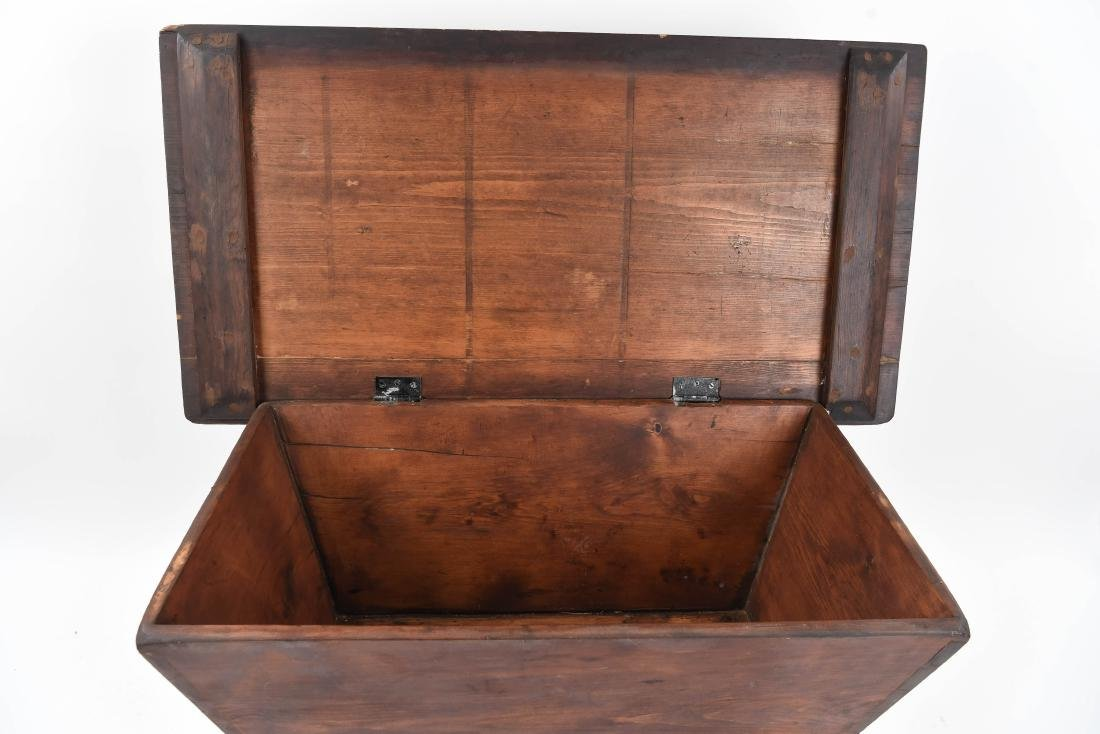 19TH C. DOUGH BIN - 8