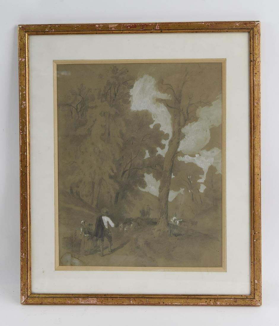 ATTR. CHARLES EMILE JACQUE (1813-1894)