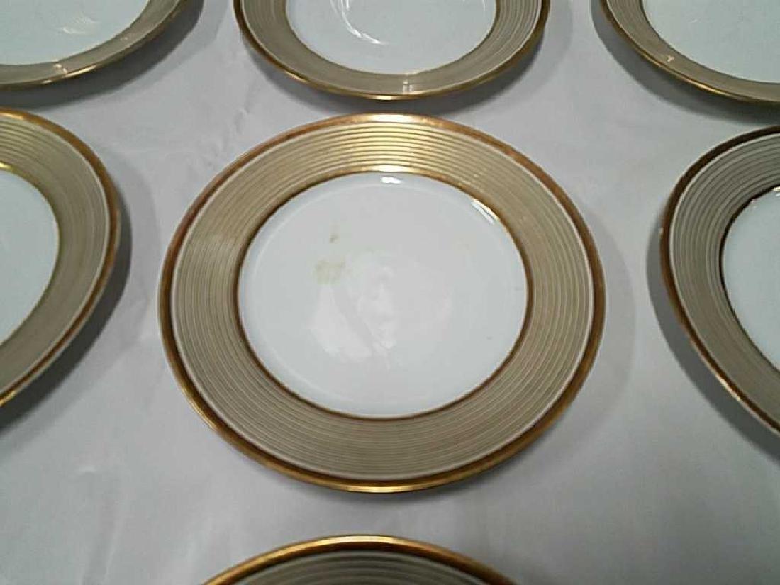 (12) LIMOGES GOLD GILT PORCELAIN PLATES - 2