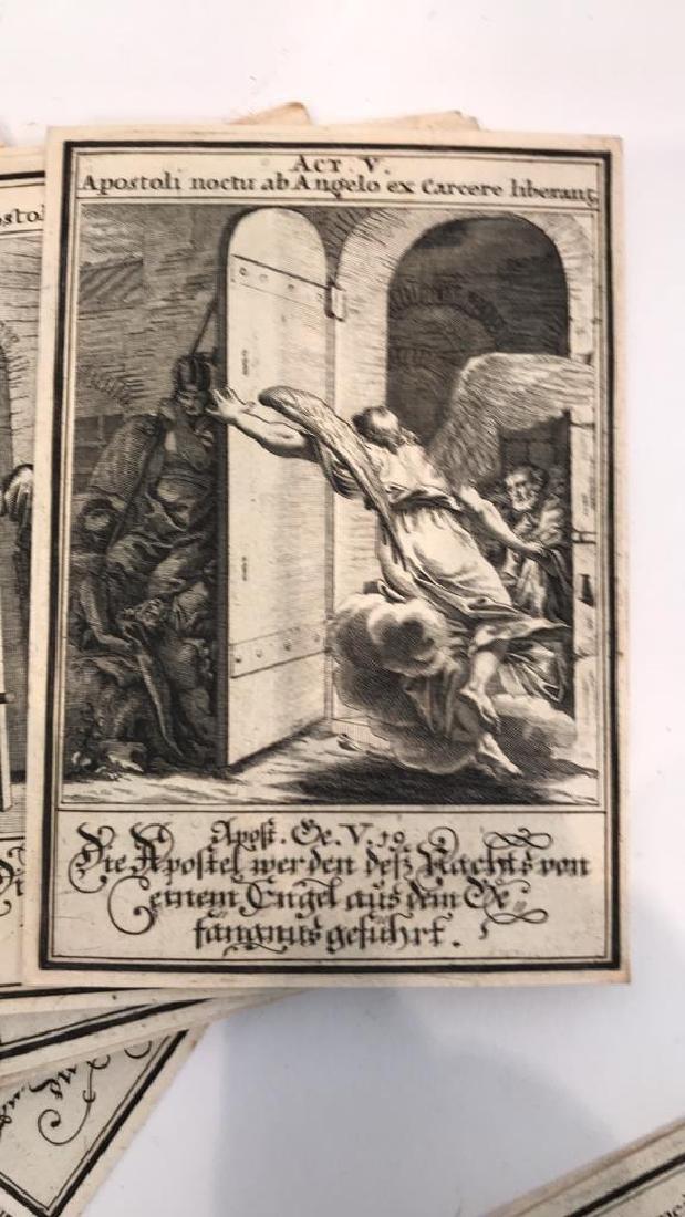 18TH C. GERMAN AND LATIN BIBLICAL ENGRAVINGS - 4
