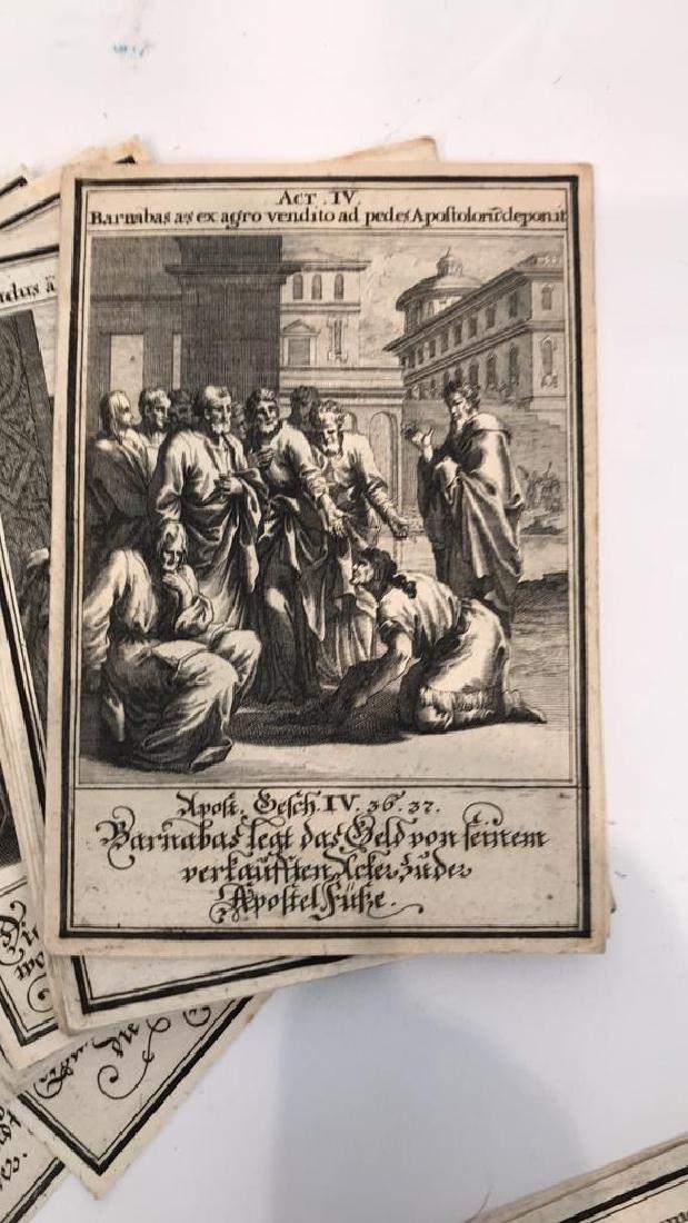18TH C. GERMAN AND LATIN BIBLICAL ENGRAVINGS - 5
