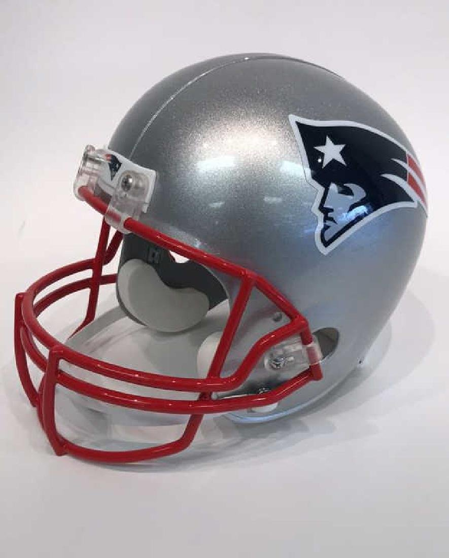 SIGNED TOM BRADY FOOTBALL HELMET - 5