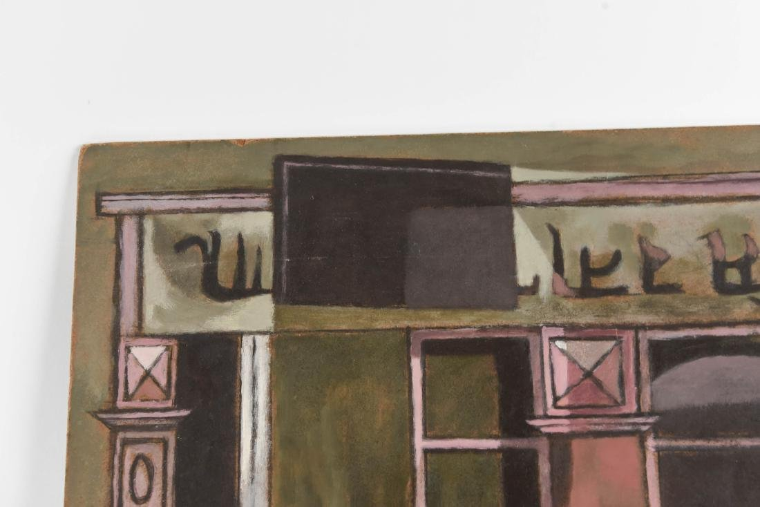 OIL PAINTING OF AN INDIAN STOREFRONT - 2