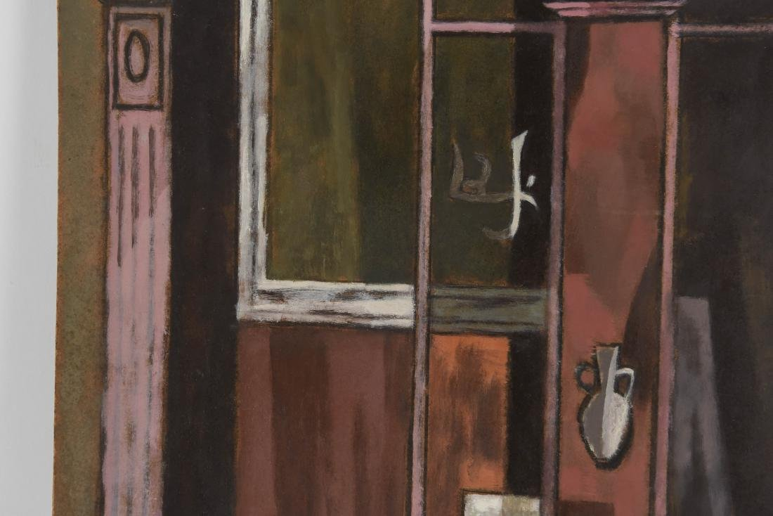OIL PAINTING OF AN INDIAN STOREFRONT - 3