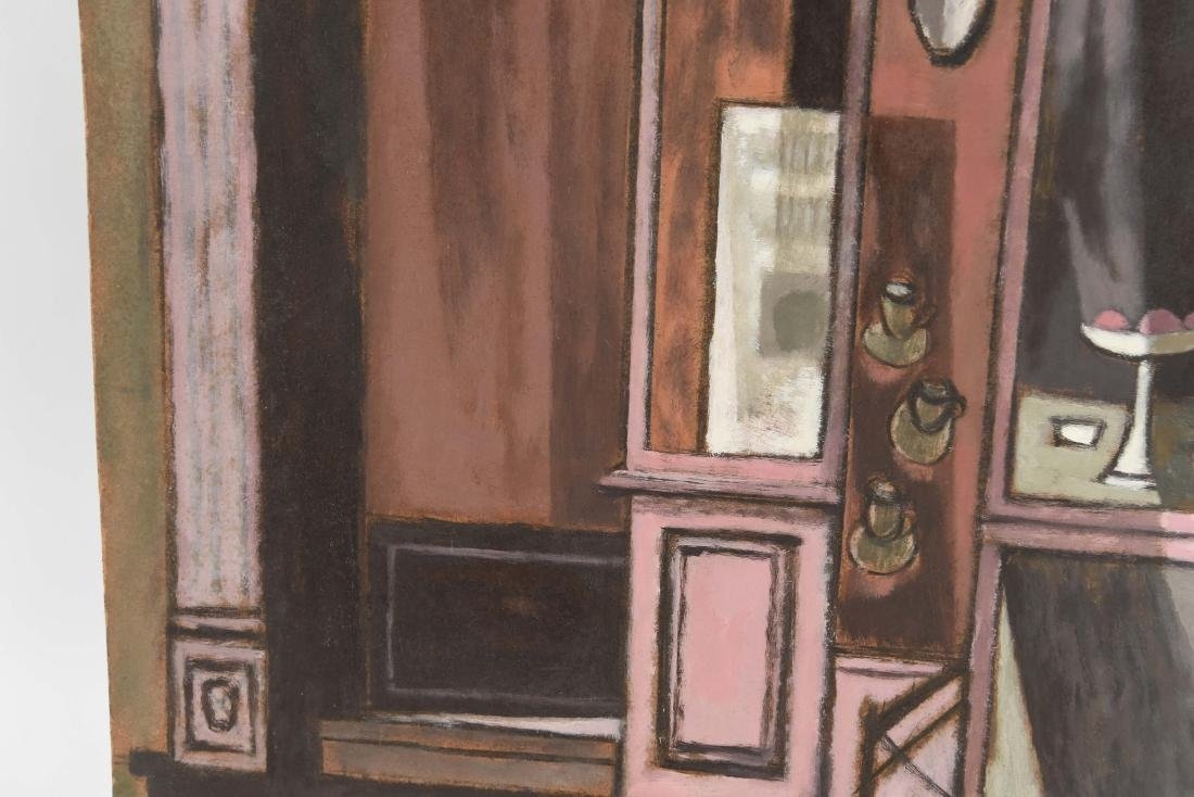 OIL PAINTING OF AN INDIAN STOREFRONT - 4