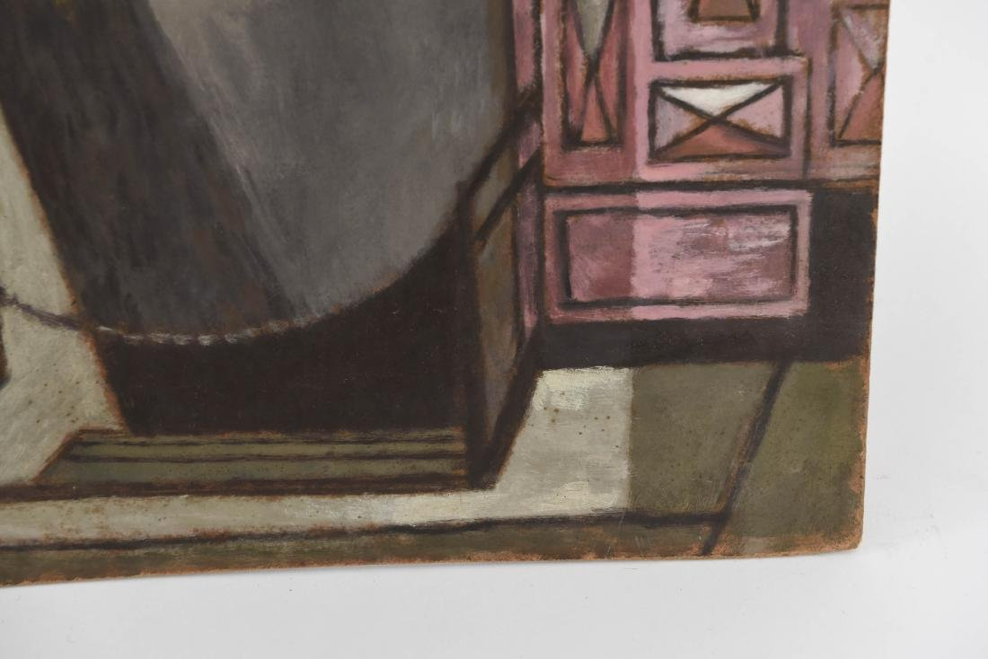 OIL PAINTING OF AN INDIAN STOREFRONT - 5