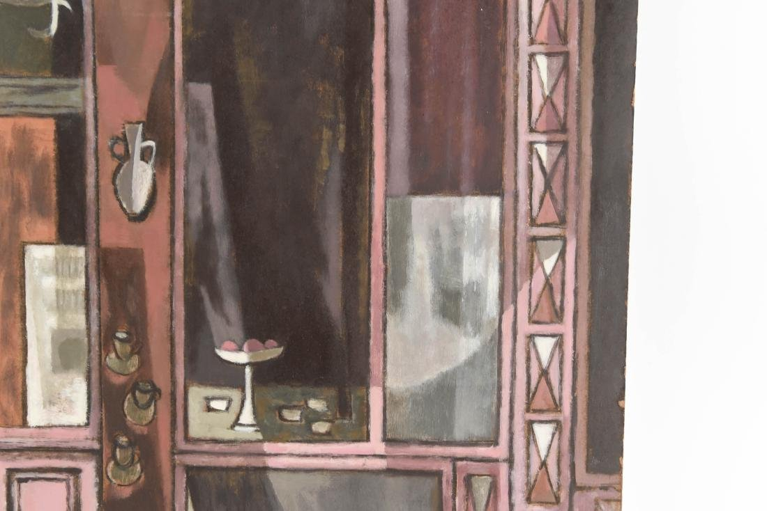 OIL PAINTING OF AN INDIAN STOREFRONT - 6