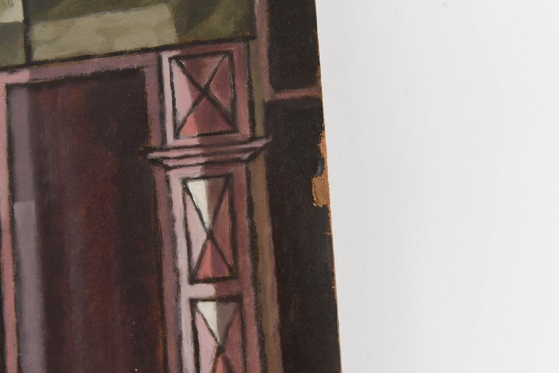 OIL PAINTING OF AN INDIAN STOREFRONT - 9