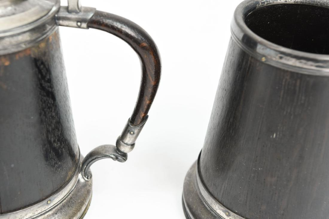 (2) ARTS AND CRAFTS TANKARDS - 4