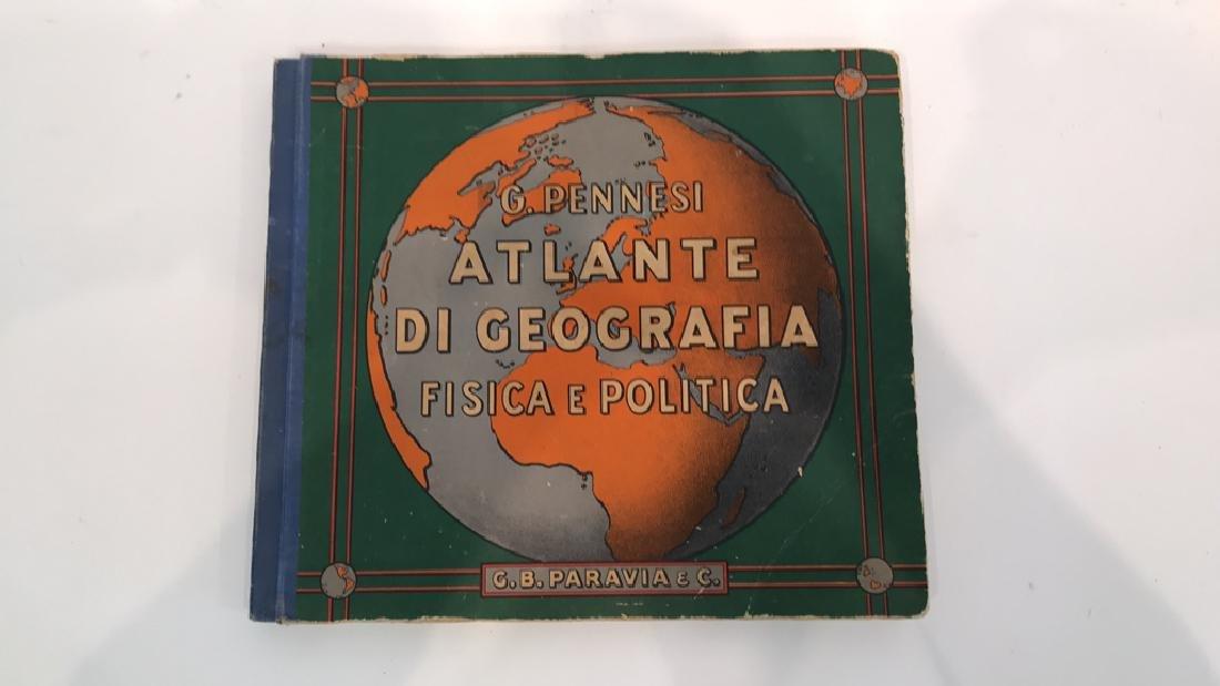 1939 ITALIAN ATLAS