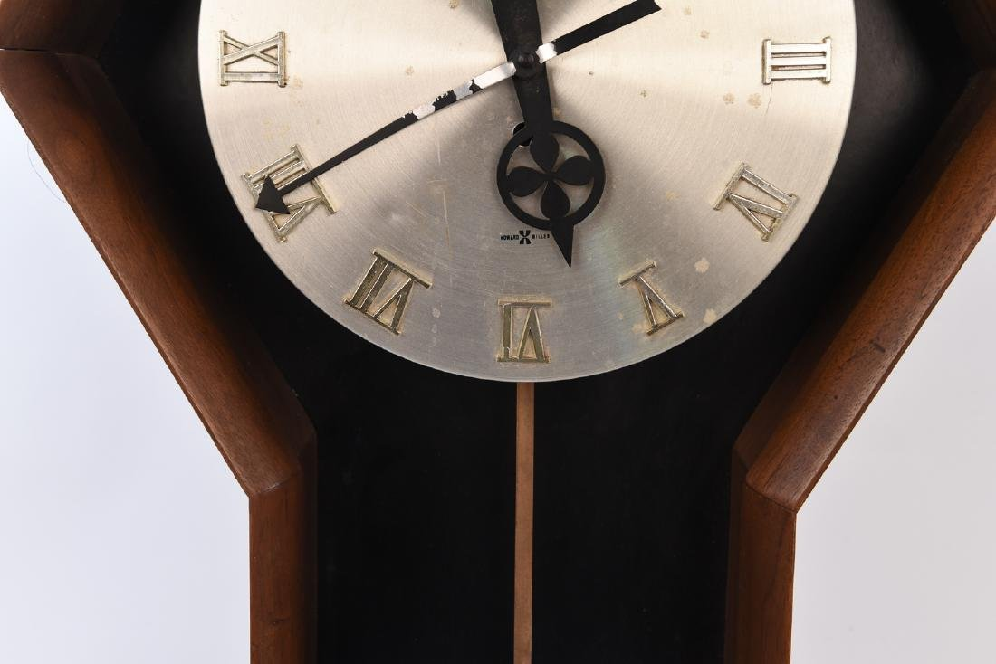 GEORGE NELSON HOWARD MILLER PENDULUM WALL CLOCK - 3