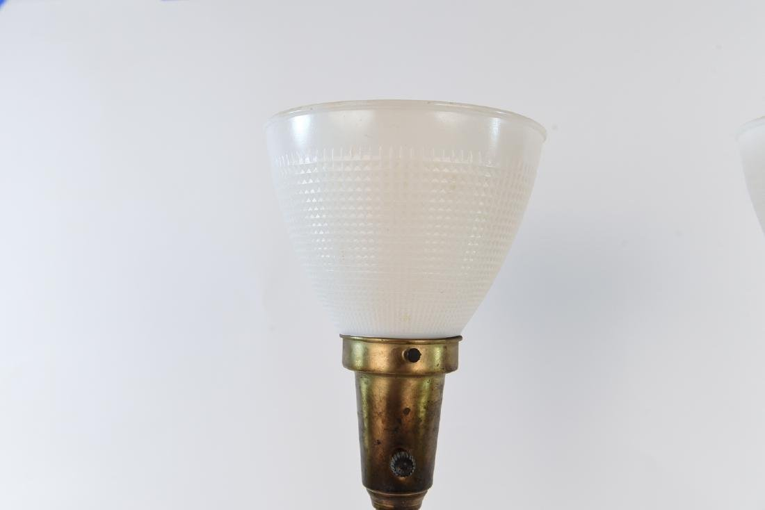 PAIR OF MID-CENTURY REMBRANDT LAMPS - 2