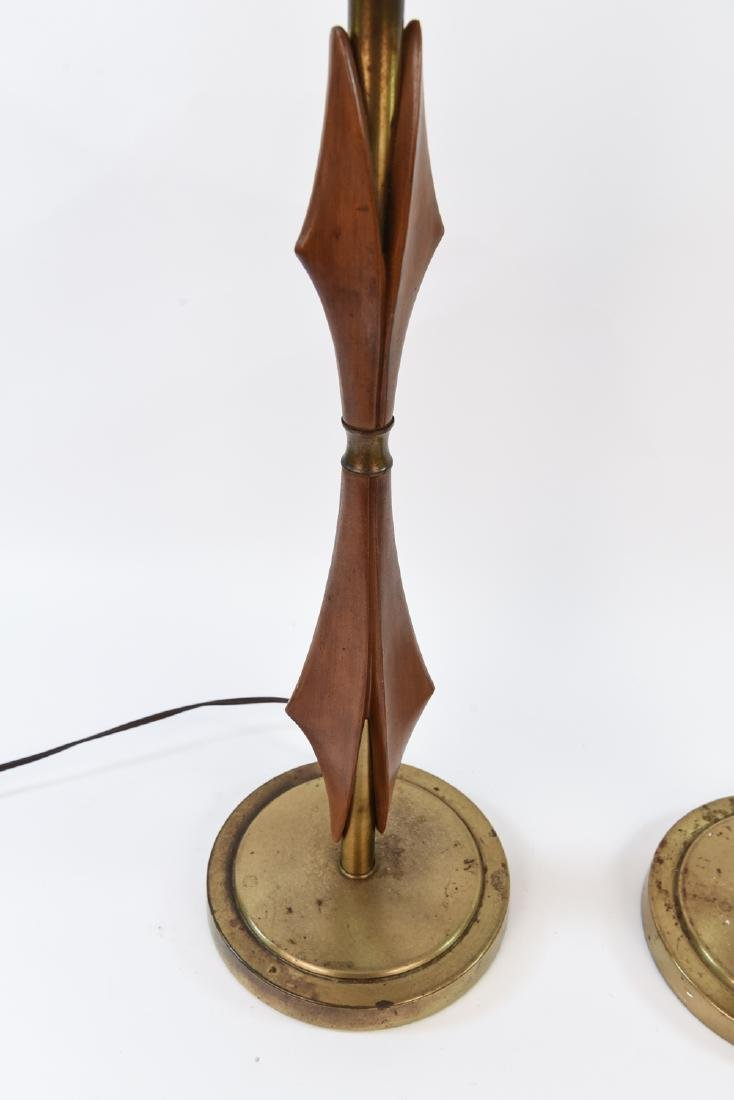 PAIR OF MID-CENTURY REMBRANDT LAMPS - 6