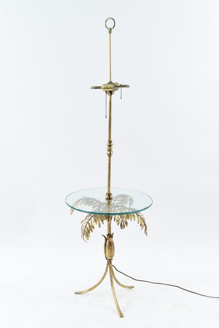 FERN FLOOR LAMP TABLE