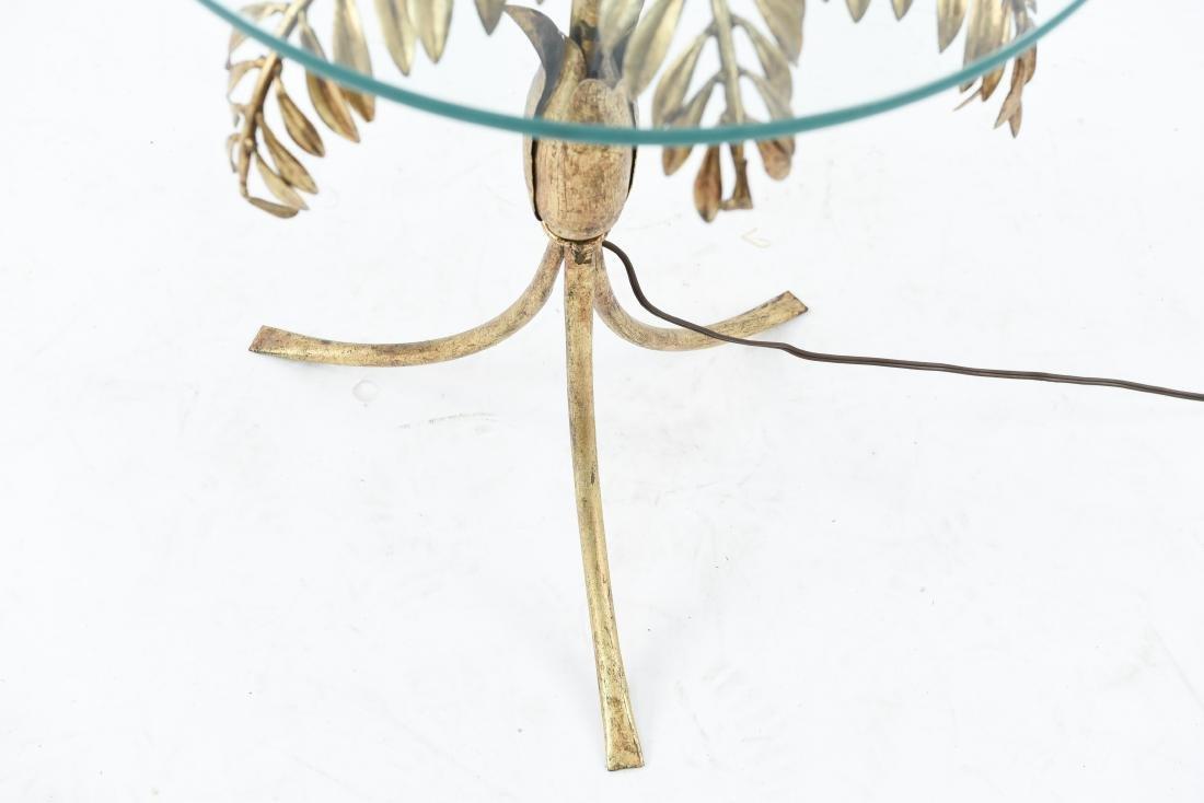 FERN FLOOR LAMP TABLE - 7