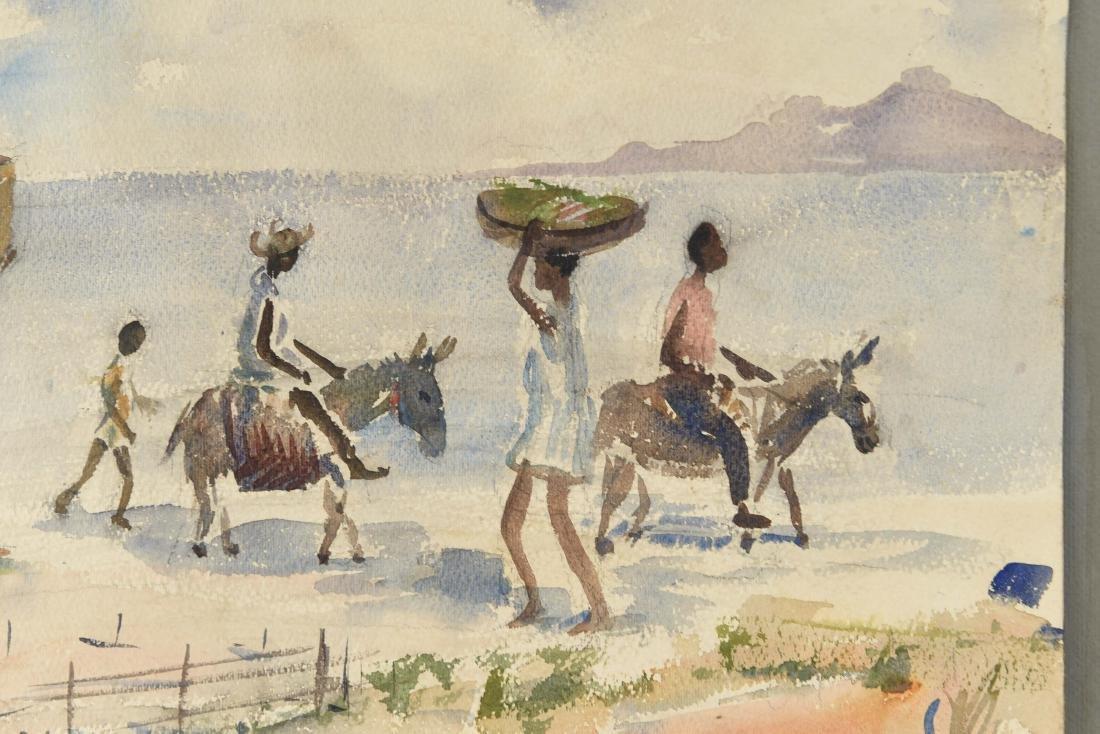 HAITIAN WATERCOLOR - 4